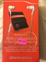 NEVER USED: BackBeat GO 2 Wireless Earbuds