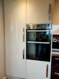 Tall 600mm pull out larder cupboard