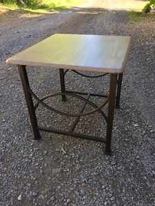 Various refinished tables