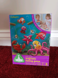 Early learning Centre etc magnetic fishing game, toy