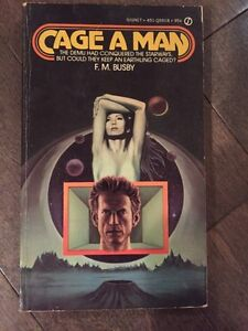 F.M.BUSBY ~ Cage a Man novel for sale