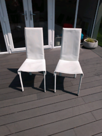 PAIR KESTERPORT KITCHEN/DINING CHAIRS