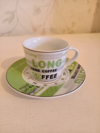 Tognana Espresso Cup And Saucer