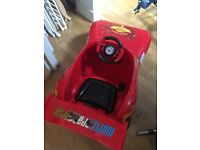 Disney Lightning Mcqueen Kids 6v Ride On