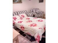Granada sofa bed and armchair