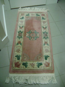 Wool Runner Chinese Floral
