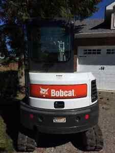 2015 Bobcat E32i mini excavator--100 Hours London Ontario image 2