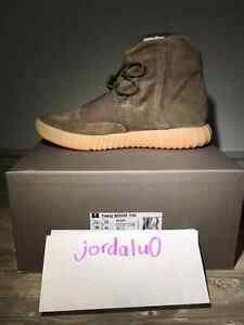 Adidas Yeezy Boost 750 - Light Brown/Chocolate