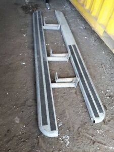 galvanized running boards