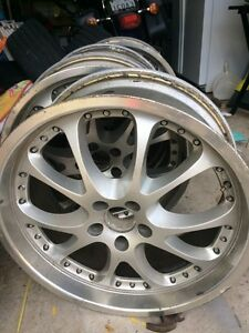 """Selling 20"""" VIP style rims 9"""" wide"""