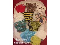 Reusable nappies! £20