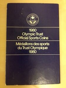 1980 Olympic Medallion Set
