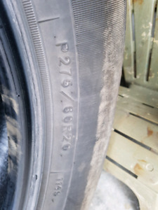 275/60 r20 Goodyear SR-A tires