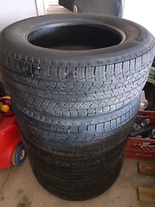Michelin latitude 265/60R18 set of 4 tires