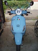 Vespa LX50 Bleu poudre