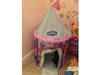Frozen castle child play tent free