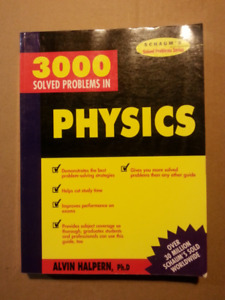 3000 Solved Problems in Physics, Schaum's