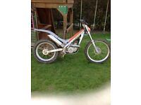Sherco 200cc trials bike