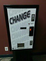 CHANGE MACHINES FOR SALE!!
