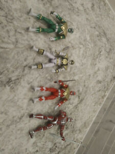 Mighty Morphin Power Rangers Legacy Action Figures