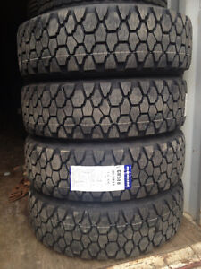 """285/70R19.5  35"""" OD RATED FOR 6400 lbs on dual wheel 6900 single"""