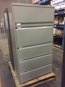 5 High Filing Cabinets