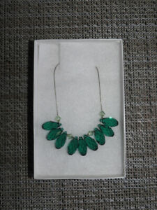 NEW green necklace - only $12!! (gift idea - comes with box)
