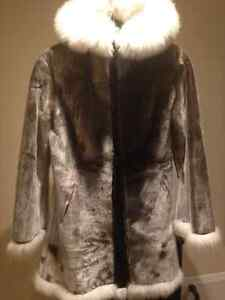 Seal Skin Coat - Like New