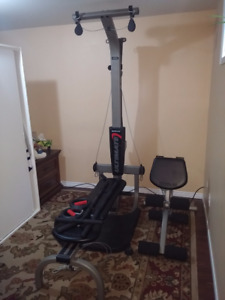 Bowflex Ultimate W/Extra Safety Lock and Steel Roller $350 OBO