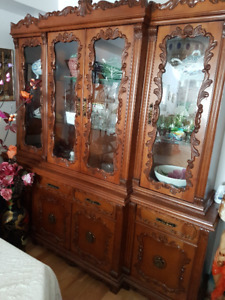 China Cabinet & Dinning Room Table