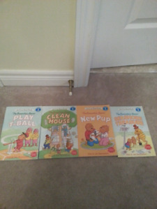 Berenstain Bears books-$2 each or 4 for $6.oo