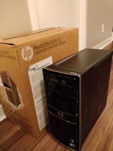 HP Desktop Gaming PC and accessories