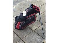 TaylorMade Golf Purelite Golf Stand/Carry Bag.