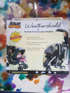 Weathershield double stroller cover
