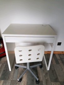 IKEA childs desk + chair