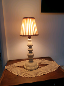 19th century table lamp hand made