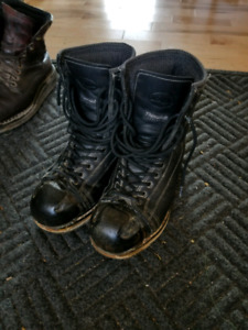 Stomper winter work boot. Flat sole. Made in Canada