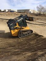 Bobcat and operator for hite