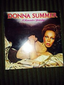 Donna summer LP Record Album