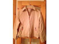 PRADA - Beige/Camel Coloured Ladies Jacket (Size 12/14)