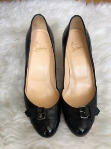 Christian Louboutin Patent Leather Heels - Size 38
