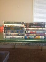 Kids VHS - 12 movies