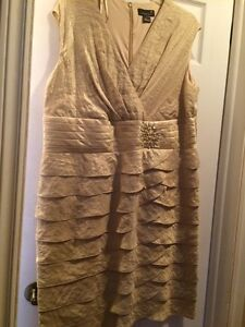 Gold evening gown 20