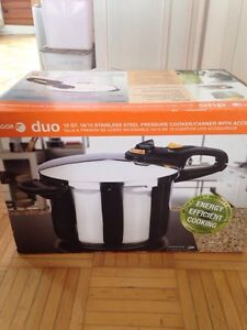 FAGOR duo 10 Qt. stainless steel pressure cooker/canner