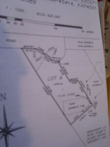 SEMI private one acre hill side lot  westkelowna