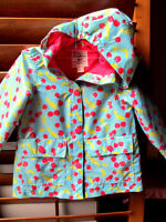 Brand new Osh kosh rain coat for 5T girl