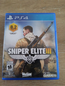 Sniper Elite 3 (sur PS4)