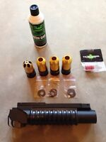 Paintball/airsoft launcher