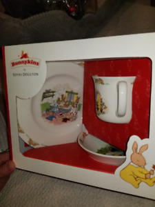 Royal Doulton Bunnykins 3 piece set