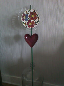 Glass garden art-Great for Mother's Day